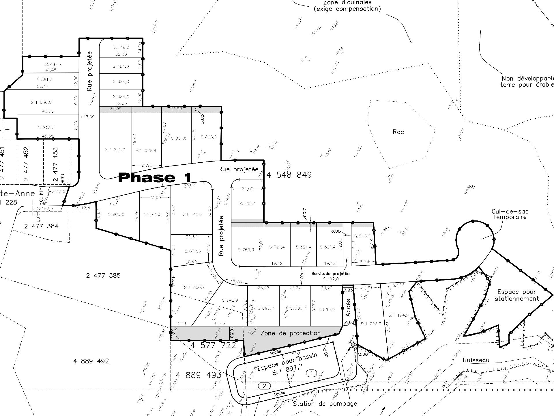 Carte secteur Sainte-Anne
